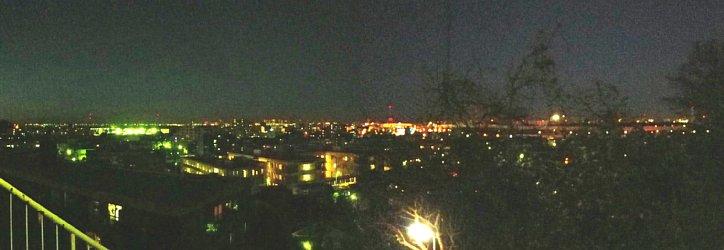 板橋区からさいたま新都心方面の夜景