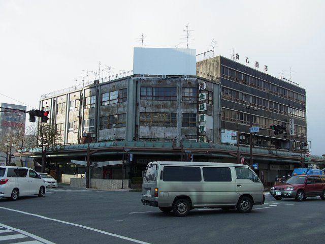 大垣市駅前大通にて