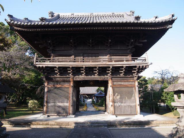 妙顕寺 山門