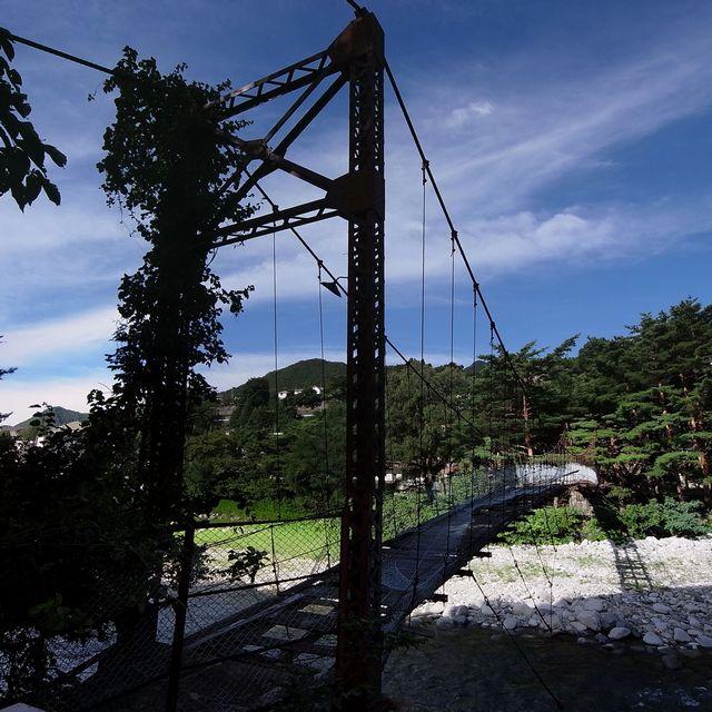 吊り橋(群馬県みなかみi町)