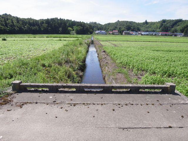 素晴らしき水路と橋 (福島県会津若松)