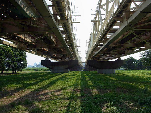 東武伊勢崎線 荒川橋梁