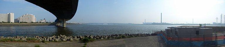 荒川・中川河口パノラマ