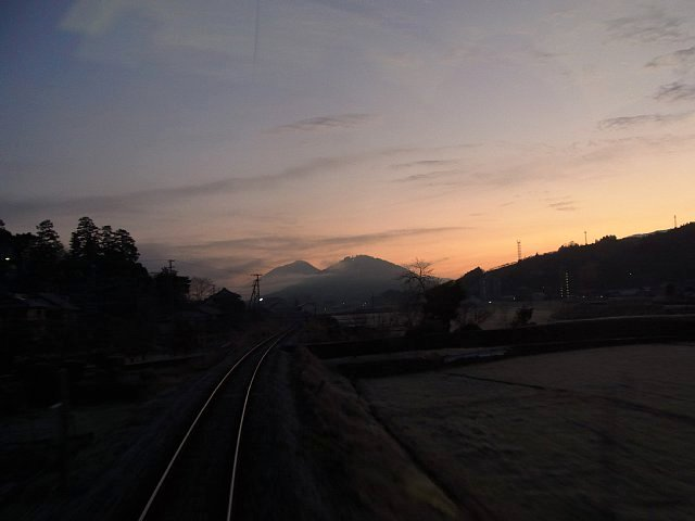 朝の予土線