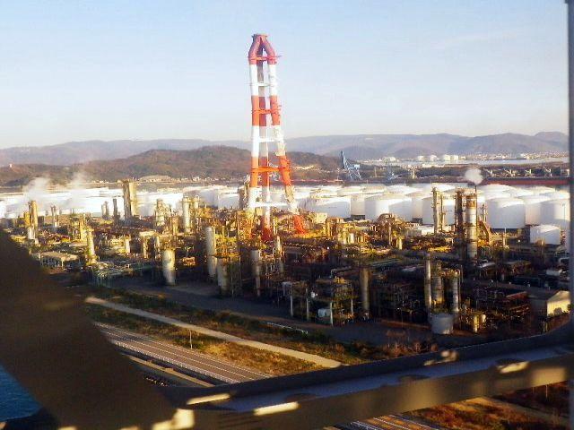コスモ石油坂出製油所