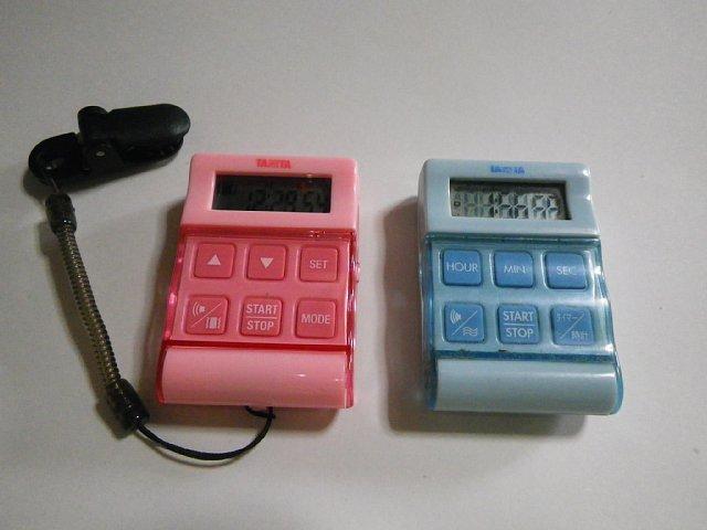 タニタ バイブレーションタイマー 24 時間計