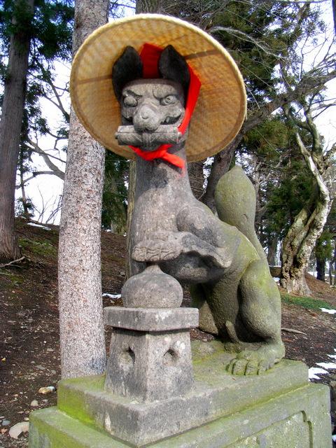会津若松城 鶴ヶ城稲荷神社