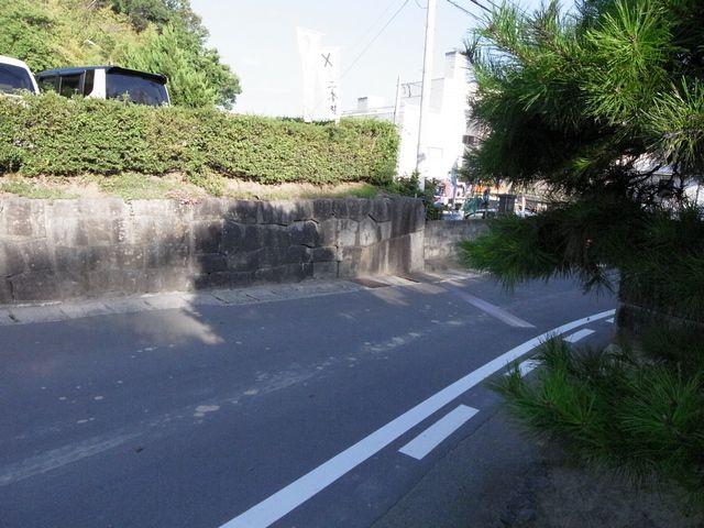 二本松城 大戸門跡