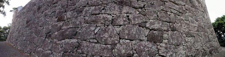 二本松城 石垣