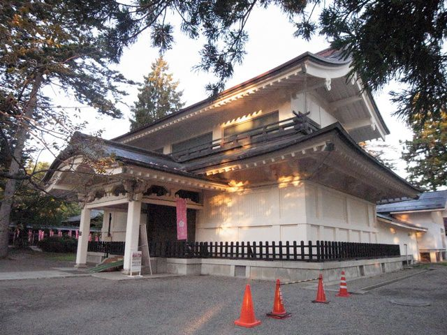 米沢城 稽照殿(上杉神社宝物殿)
