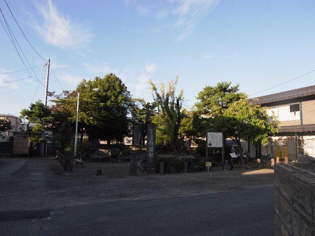米沢城 餐霞館遺跡