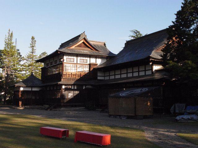 米沢城 上杉伯爵邸