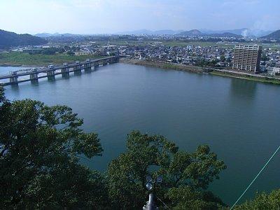 犬山城 天守からの眺望 2009 年 10 月