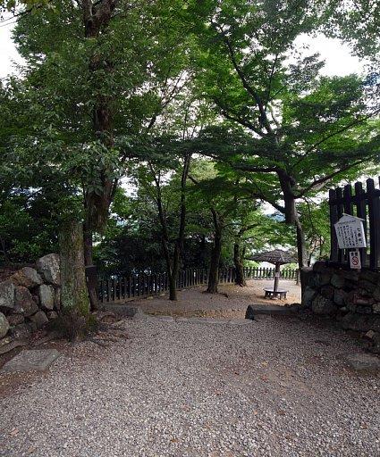 犬山城 七曲門跡 2017 年 8 月