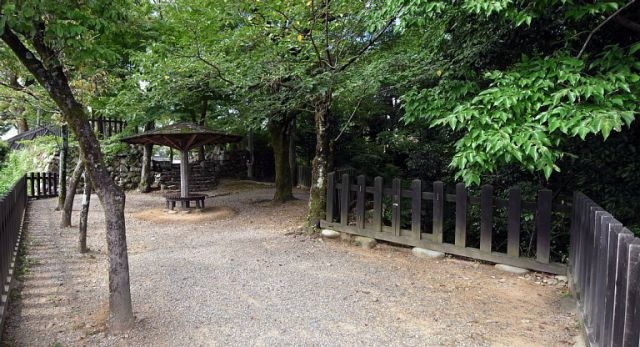 犬山城 七曲門跡 外枡形 2017 年 8 月