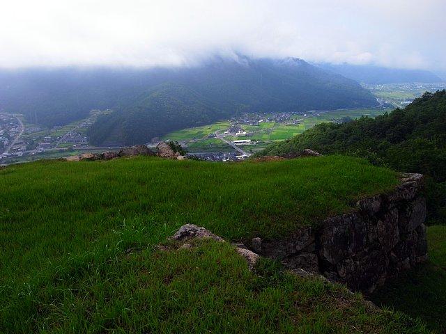 北千畳からの景色