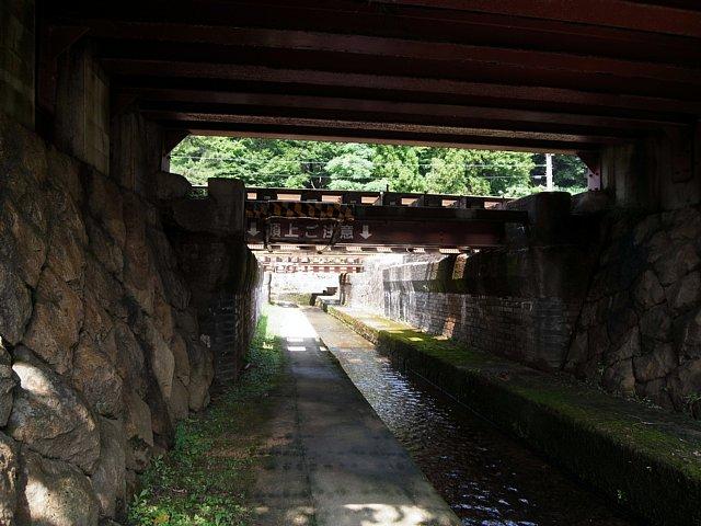 竹田駅潜線路(※名称は便宜上、筆者によるもの)
