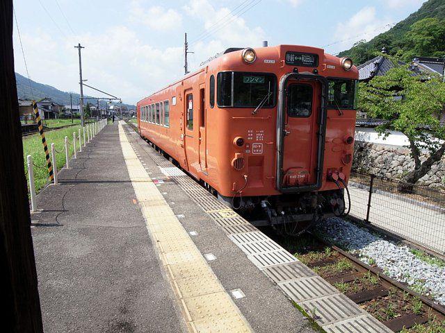竹田駅ホーム