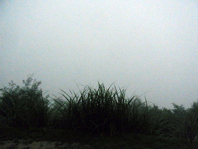 立雲峡第一展望台から竹田城方向