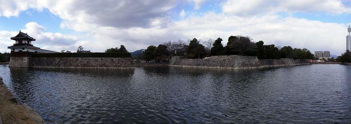 広島城 東南東あたり