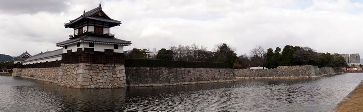 広島城 南東より