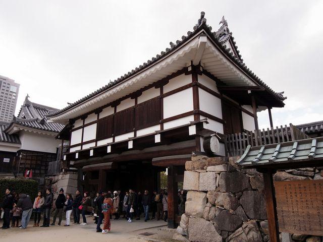 広島城 復元表御門