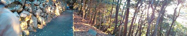 岩国城 南面石垣