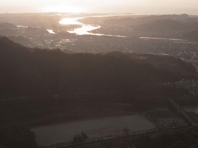 岩国城 模造天守からの眺望