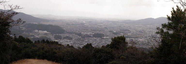 大野城 焼米ヶ原からの眺望