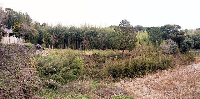 肥前名護屋城 台所丸と鯱鉾池