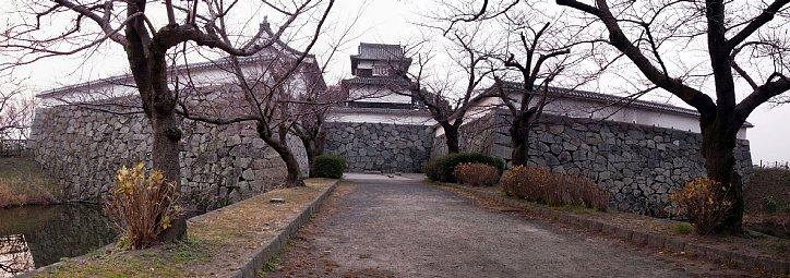 福岡城 下之橋御門・伝潮見櫓