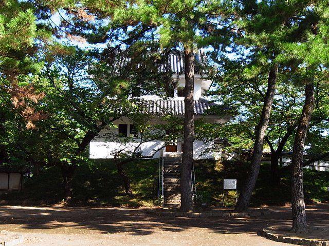 土浦城(茨城県土浦市) 東櫓(復元)