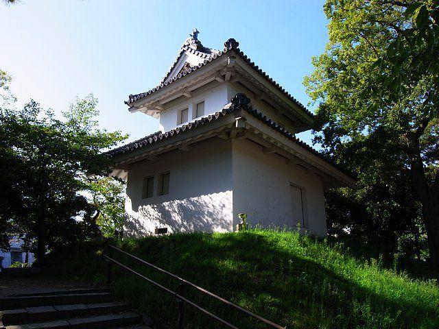 土浦城(茨城県土浦市) 西櫓(復元)