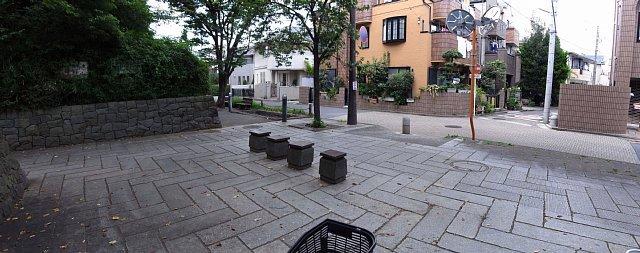 蕨城址 東側入り口