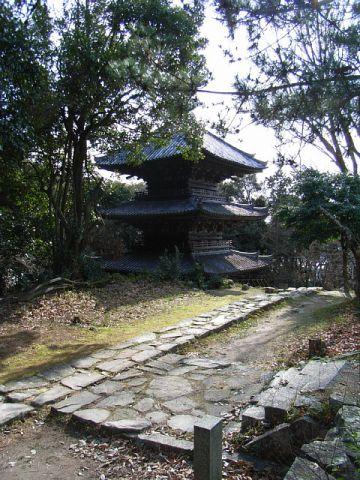 安土山 ?見寺三重塔