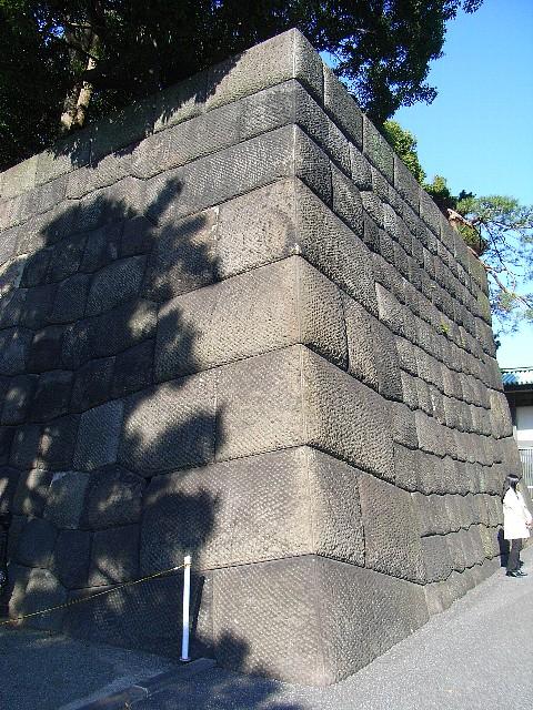 江戸城 新宮前石垣