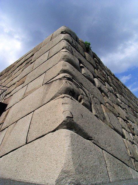 江戸城 天守台 石垣