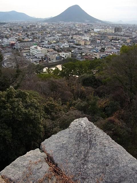 丸亀城 眺望