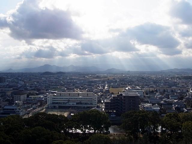 丸亀城 天守からの眺望