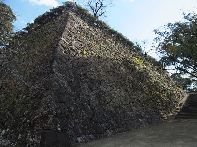 延岡城 千人殺しの石垣
