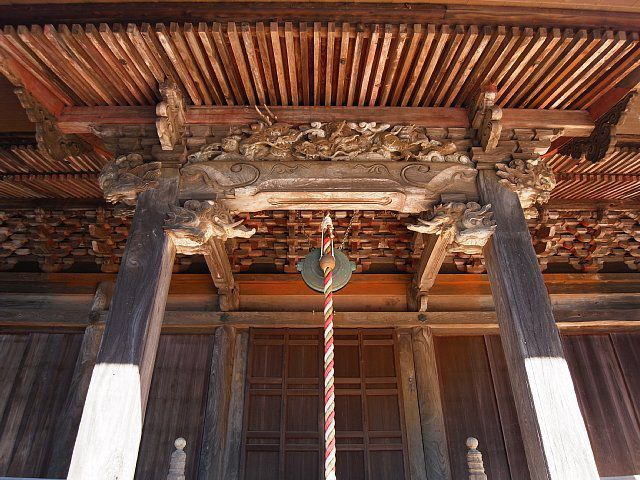 観音寺(牛久市) 本堂