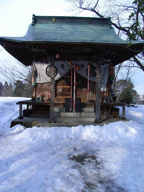 鶴ヶ城(会津若松城)稲荷神社