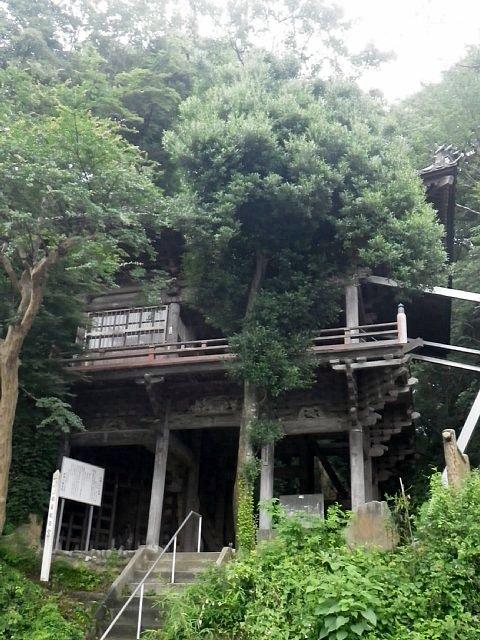 武蔵松山城 岩室観音