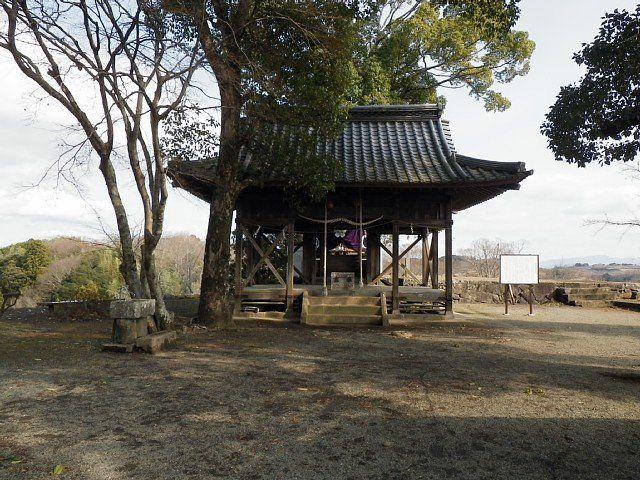 岡城 天満神社