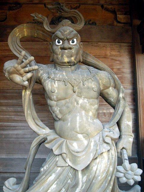 永国寺(熊本県人吉市) 仁王像