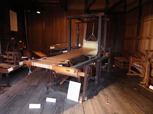 杉並区郷土博物館 機織機