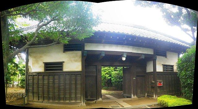 旧三田家 長屋門(世田谷区深沢)