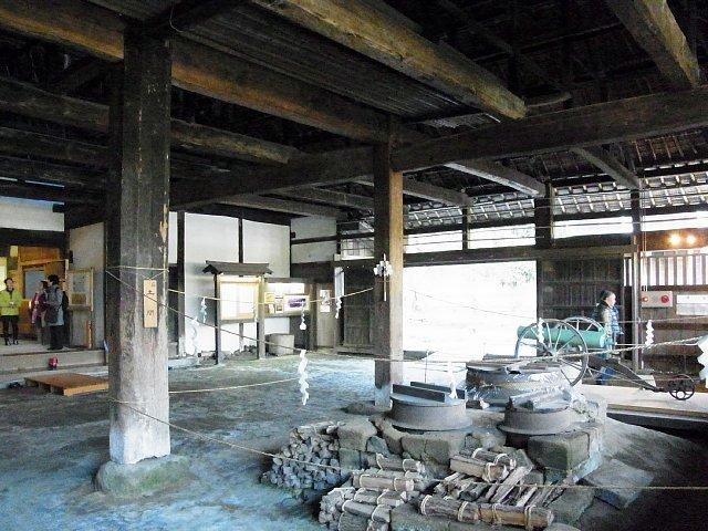 江川邸 母屋の土間