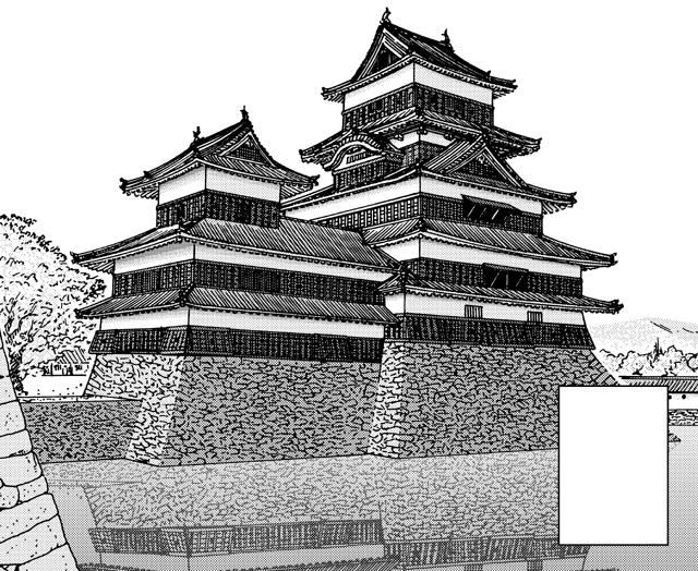 城之八 松本城より