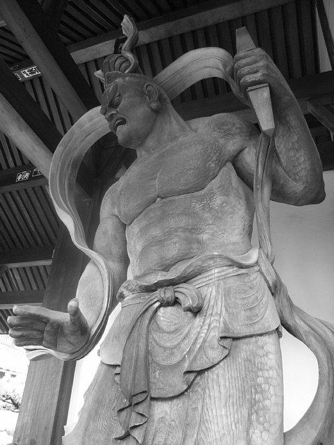 西明寺 仁王像
